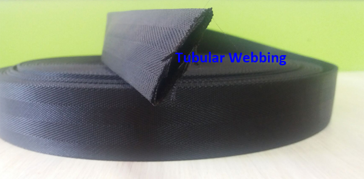 38mm 30mm 20mm Custom Backpack Tubular Polypropylene PP 25mm Black Nylon Webbing