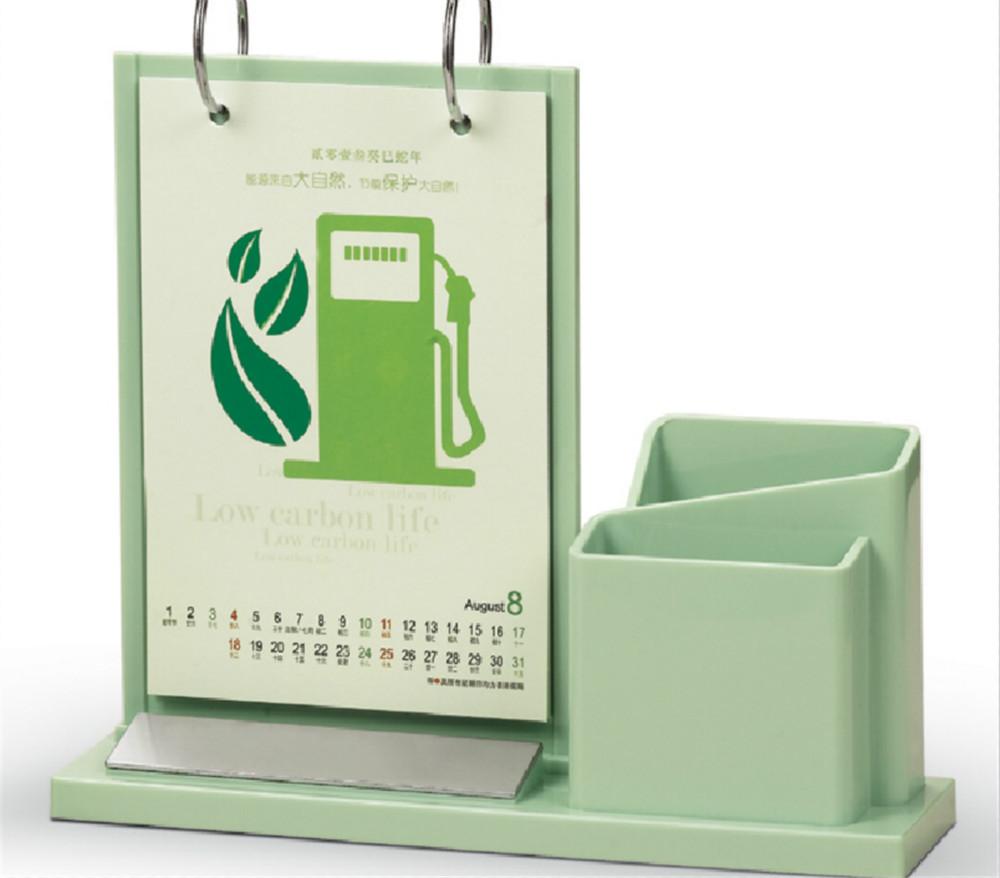 Desk Calendar 2015 With Pen Holder Plastic Calendar Buy