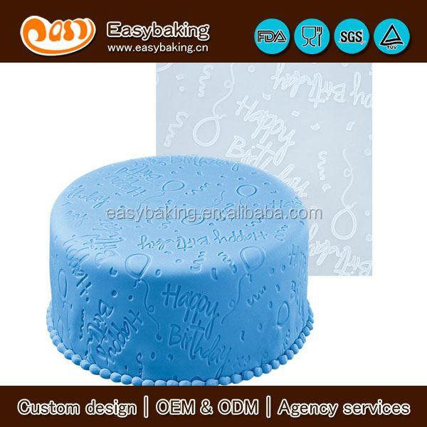 silicone imprint mat