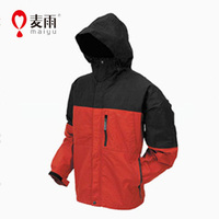Maiyu windbreaker water repellent rain jacket for motorcycle