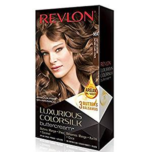 Get Quotations · Revlon Luxurious Colorsilk Buttercream Hair Color, 50A Light  Ash Brown (Pack Of 2)