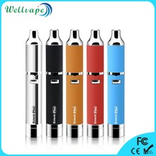 2017 hot selling Dual Quartz coil wax vaporizer pen yocan evolve plus