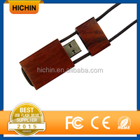 Wooden Lanyard USB Flash Drive Pro Duo