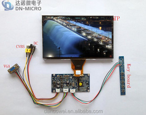 "High definition transparent capacitive multi touch screen panel 8"" inch for visual doorbell"