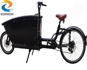 2 wheel electric cargo bike/bicycle with cargo box