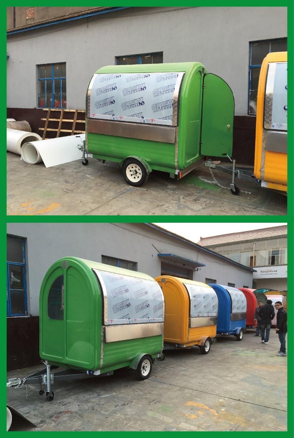 FV 22B China Motorcycle Mini Food Van Competive Price Easy Clean