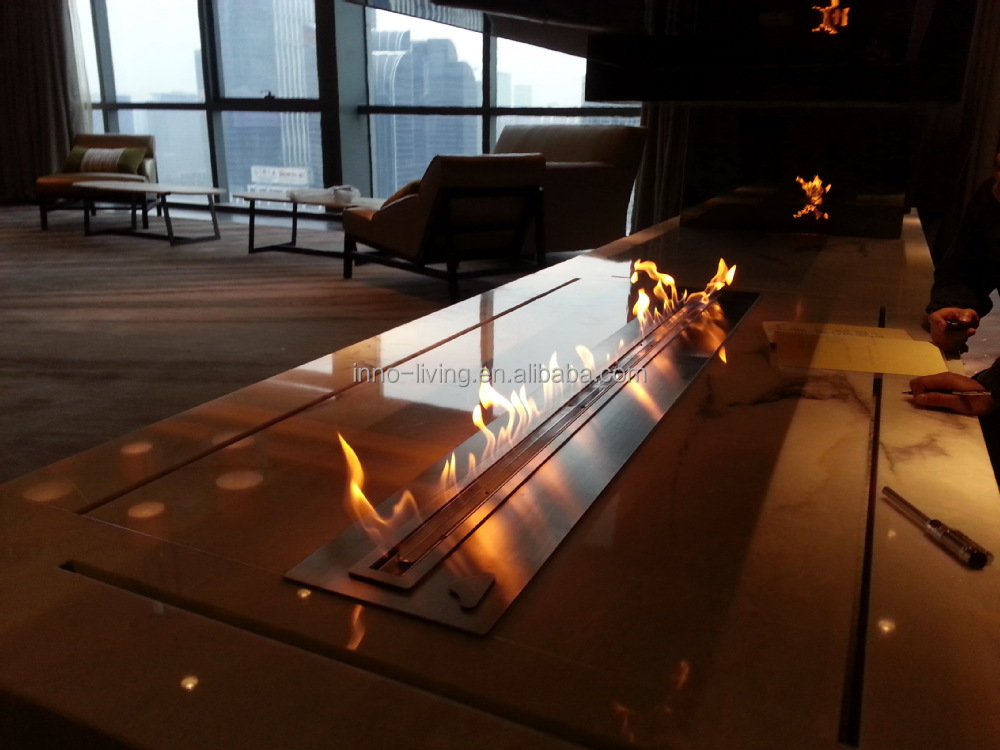 Ethanol Fireplace Burner Outdoor View Ethanol Fireplace