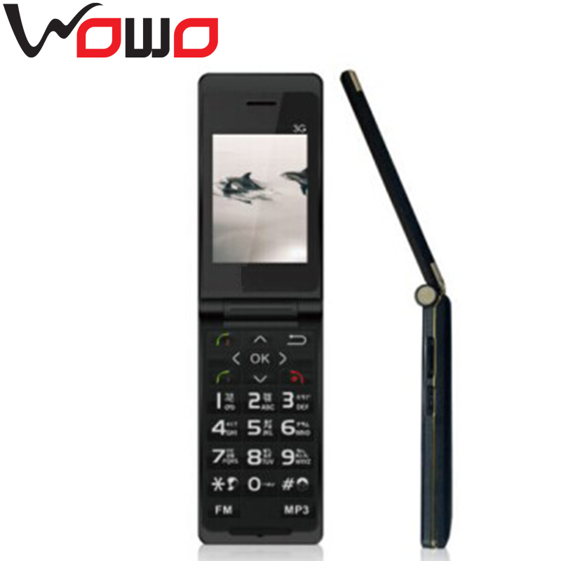 Elder Phone F7 2.4 inch TFT Display Screen Support Dual SIM Card Camera Senior cell Phone Flip mobile phone