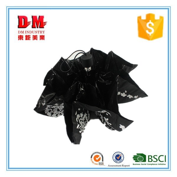 high quality 21'' x8k 3 fold umbrella female lovely mini lace for sale