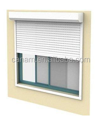 Buy direct from China wholesale aluminum window metal rollingshutter