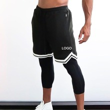 Individuelles Logo 2019 Neue <span class=keywords><strong>männer</strong></span> Fitness Gym Lauf <span class=keywords><strong>Shorts</strong></span> <span class=keywords><strong>Männer</strong></span> marke Jogger druck Workout Dünne <span class=keywords><strong>Männer</strong></span> Sport <span class=keywords><strong>Shorts</strong></span> Solide plus Größe