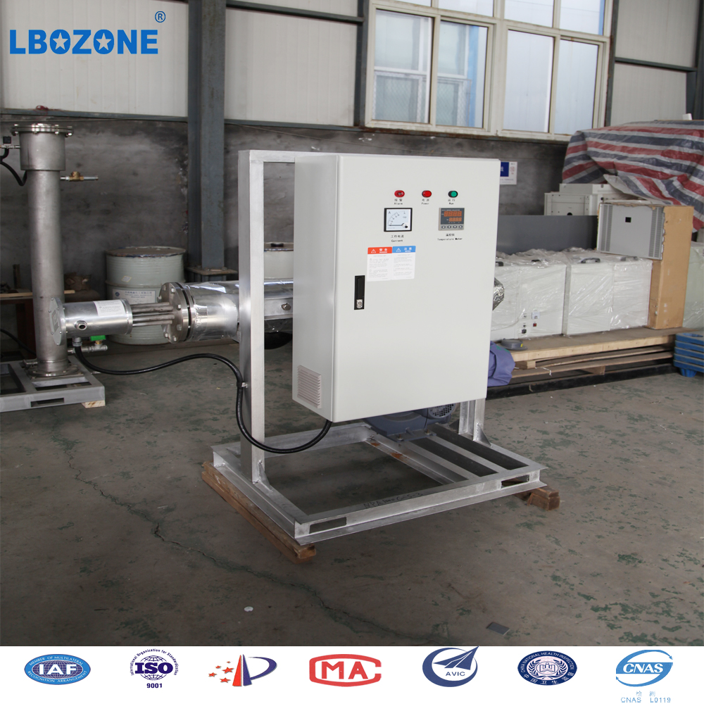 ozone generator for laundry water