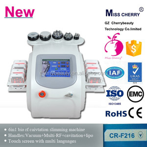 tripoalr RF 28kHz cavitation slimming machine for fat removal