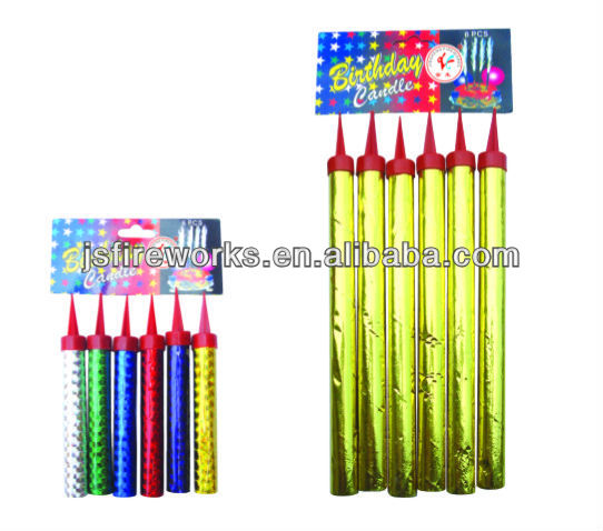 30S Birthday Cake Candle Fireworks