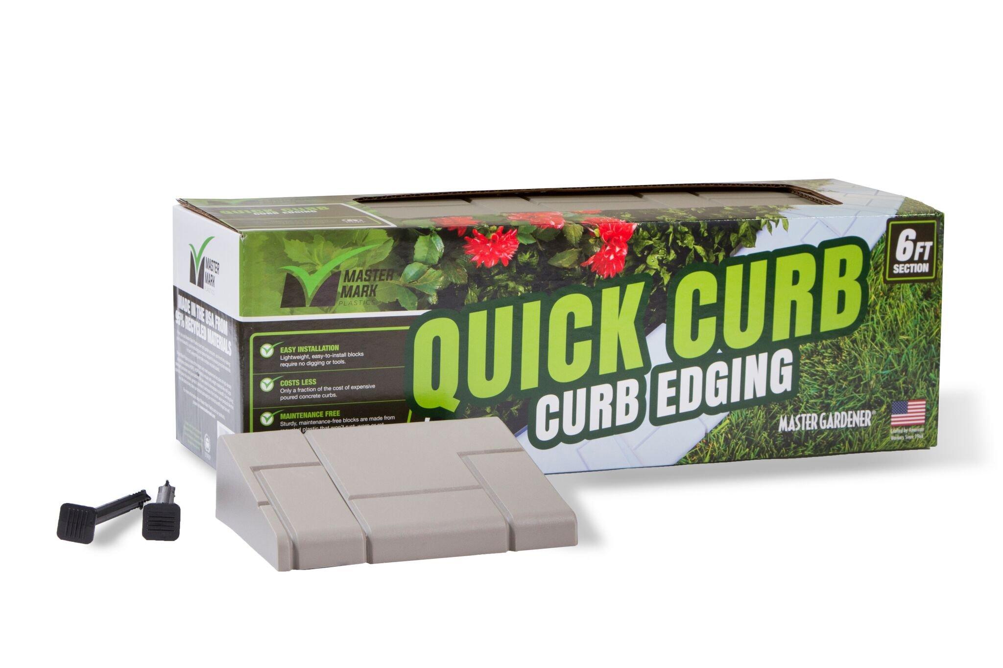 Master Mark Plastics Quick Curb Edging 6'