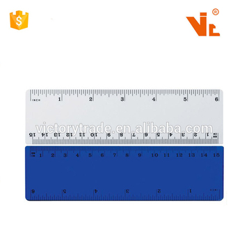 Wholesale Promos Plastic 15CM Ruler In Inch And Centimeter 6