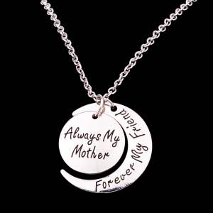 Necklace For Mom Always My Mother Forever My Friend Chain Necklace