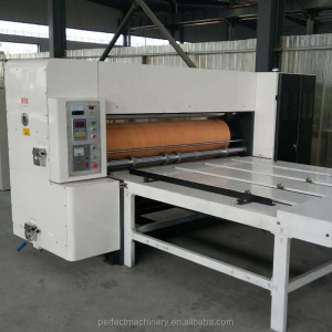 Corrugated box making round roller die cutter