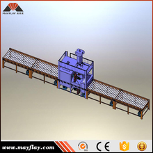 MAYFLAY Steel Cylinder Inner And Outer Wall Shot Blasting Machine Producting