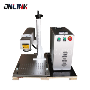 Designed hot sell metal emblem fiber laser marking machine