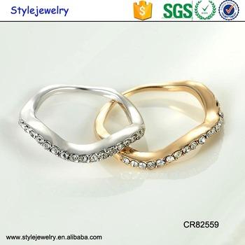 Cr 3 Gram Finger Diamond Latest Gold Ring Design For Girl