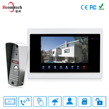 Easy Install Wired Doorbell with Camera 10 inch Villa Ring Camera 4 Wire Door Lock and Door Intercom