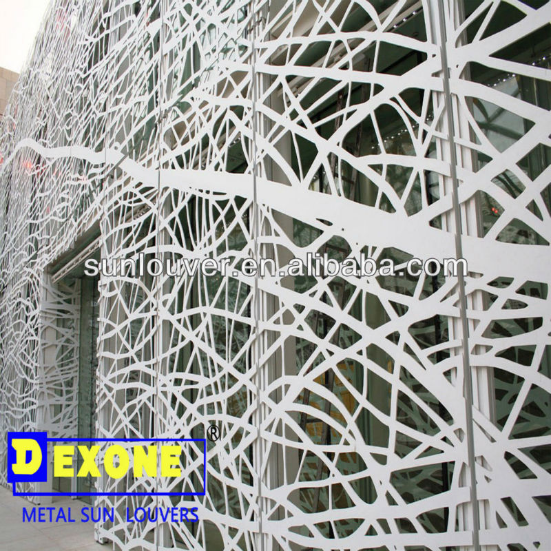Cnc Aluminum Decorative Wall Panel For Metal Curtain Wall