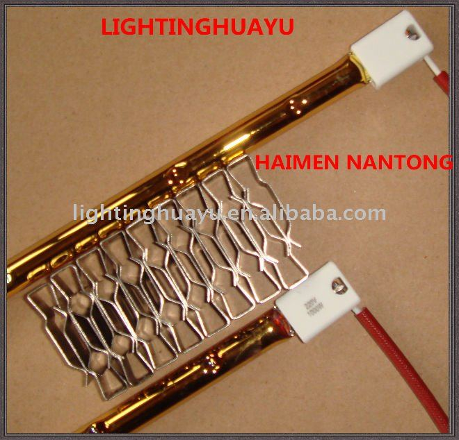 infrared Quartz Heater and Halogen Heating element with lamp