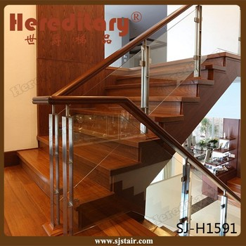 Best Stainless Steel Deck Clear Glass Railing Glass Stair Railing Cost