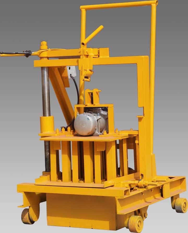 Manufacturer Direct Manual Interlocking Concrete Block