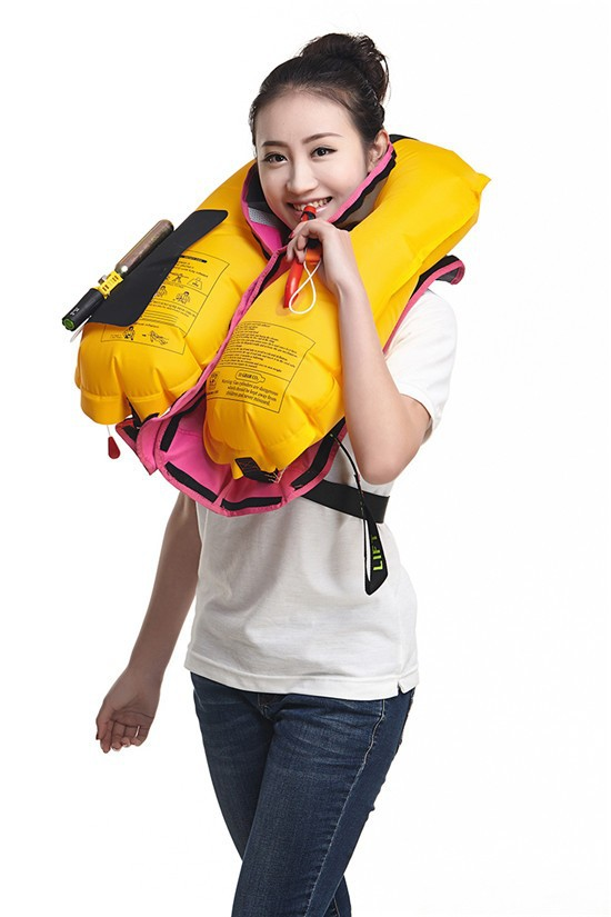 Solas Approved Inflatable Life Jacket/life Vest For Fishing ...
