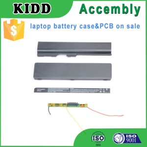 assembly laptop battery case with PCB printed circuit board