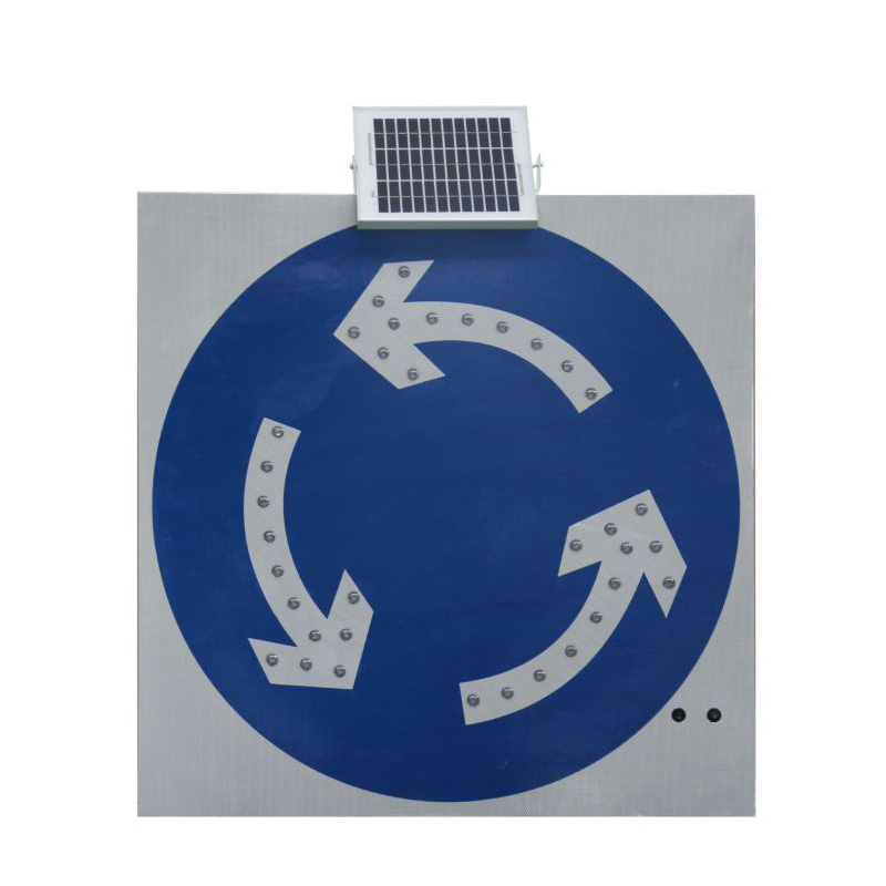 Traffic Safety Solar Road Symbol Signs