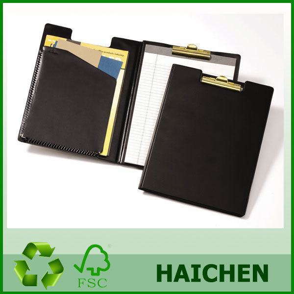 Wholesale A4 Size Pvc Folding Clipboard