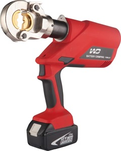 Battery Powered hydraulic cable crimping tool