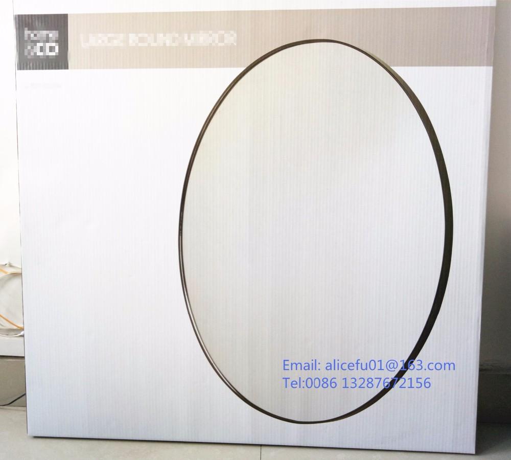 Decoración diámetro 80 cm metal decorativo grande enmarcado espejo ...