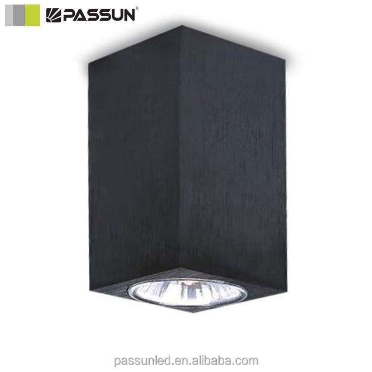 gu10 50 w cube forme aluminium led plafond halog ne. Black Bedroom Furniture Sets. Home Design Ideas