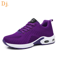 OEM ODM knitted upper ladies sports shoes