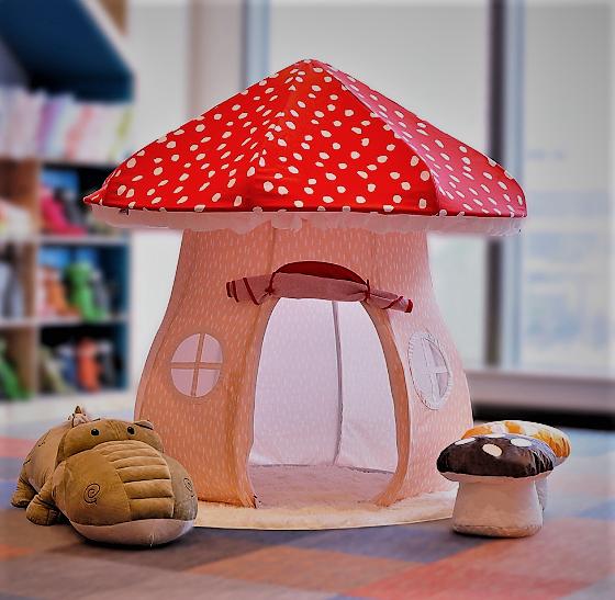 Lovely Mushroom Fabric Kids Handmade Play Tent & Lovely Mushroom Fabric Kids Handmade Play Tent - Buy MushroomTent ...