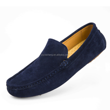 2018 New style genuine leather loafer shoes men loafer shoes leather moccasin shoes men loafer