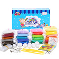 Air Dry Playdough Polymer Clay Play Doh Dough Set Soft Super Light Modeling Clay Intelligent Plasticine