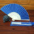 Chinese Silk Fabric Fan Wedding Invitations in Bulk