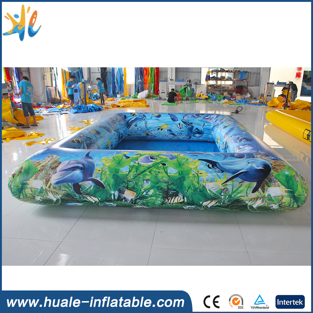 Customized mini indoor inflatable pool/pool inflatable for kids