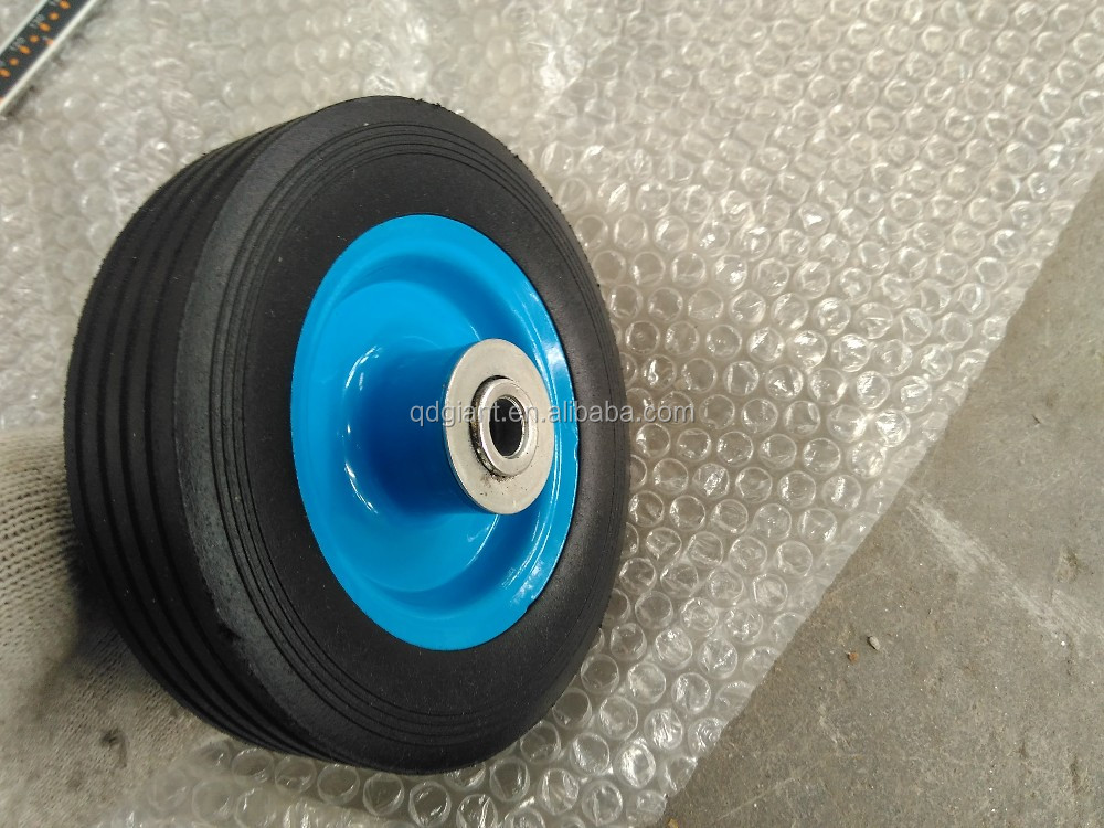 Small Wheel 6 Inch Solid Rubber Wheels Buy Solid Rubber