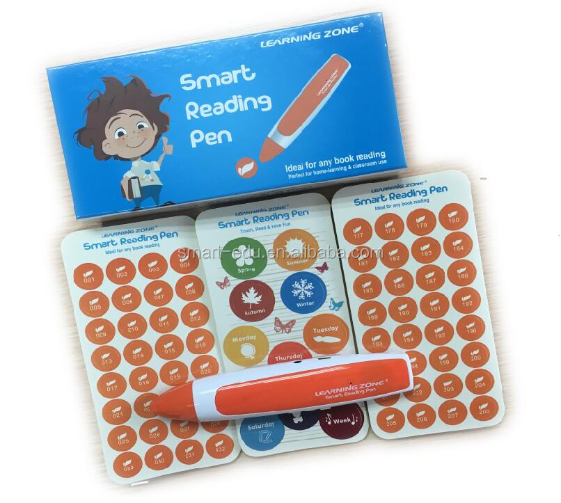 Multi language preschool kids learning translator talking Pen