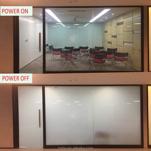Transparent and Opaque switchable smart film switchable pdlc film for Window glass decoration