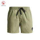 Custom make beach swimming shorts men army green boardshorts swim wear