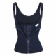 Women's Waist Trainer Corset Vest Steel Boned Tummy Control Neoprene Body Shaper with Adjustable Straps