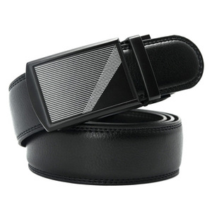 Flip Over buckle Belt Men's Fashion Men's Sash Leather Belt