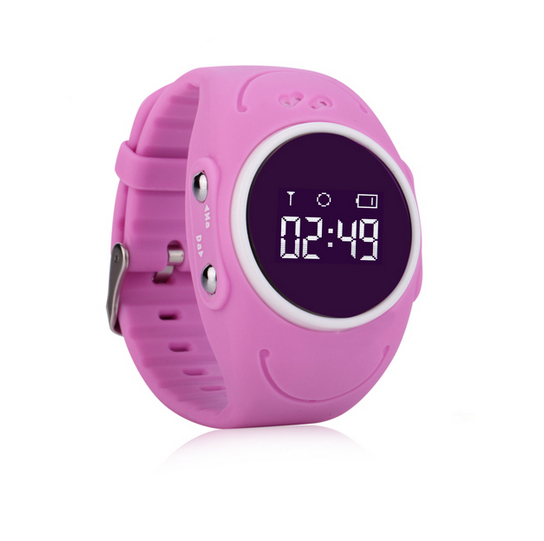 Factory price waterproof online tracking kids GPS q520s watch